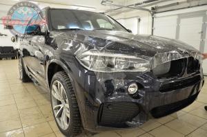 защита керамикой и антигравийной пленкой нового автомобиля BMW X5
