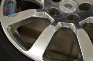 восстановительная полировка и керамика на Cadillac CTS