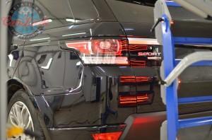 Detailing Range Rover Sport