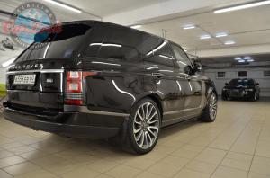 Детейлинг полировка и химчистка Range Rover Vogue